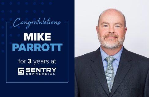 Congratulations Mike Parrott