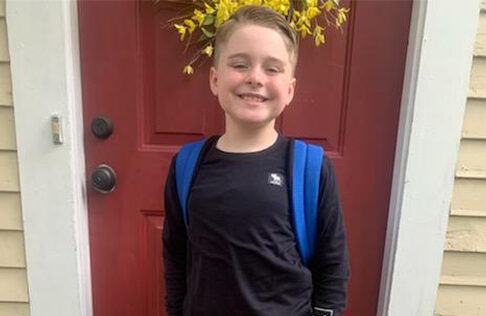 Curt Gemme's Son back to school