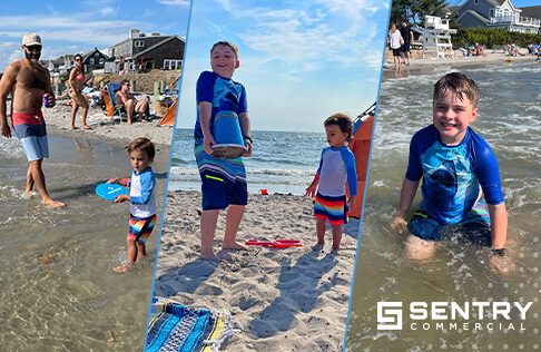 Beach Day with Sentry Commercial