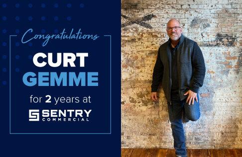 Happy Sentry-Versary to Curt Gemme, Director of Business Development