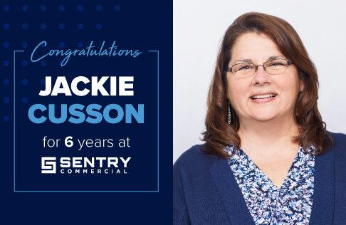 Happy sentry-versary to Jackie!